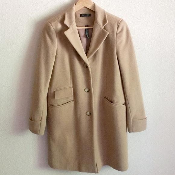 Ralph Camel Blend Lauren Wool Coat shdQrCt